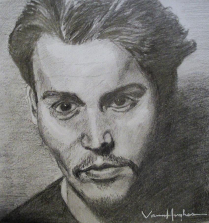 Johnny Depp by Vannagain